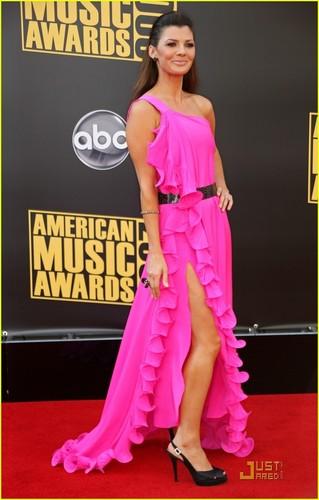Ali Landry @ American Music Awards 2008