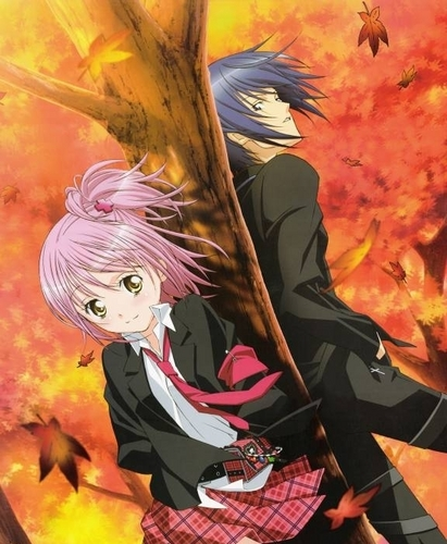 Shugo Chara wallpaper containing anime called Amu and Ikuto