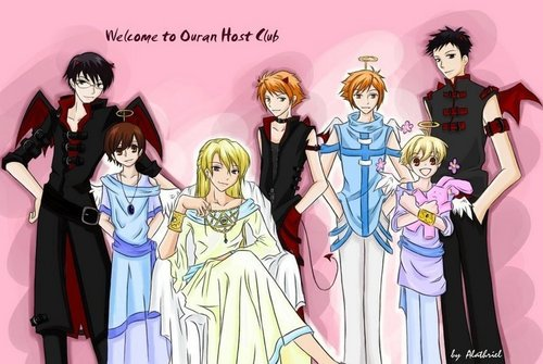 ouran high school host club wallpaper entitled malaikat and Devils
