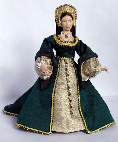 Anne Boleyn Doll, সেকেন্ড Wife of Henry VIII