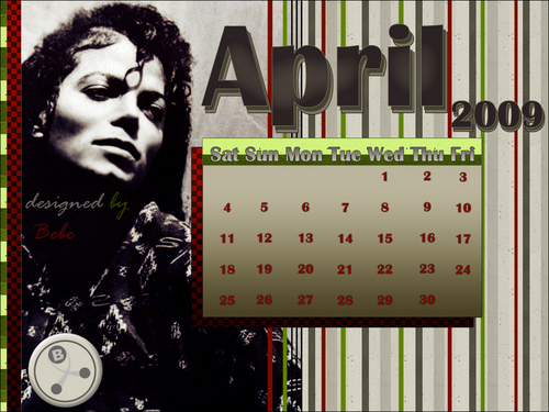 April with MJ - michael-jackson Wallpaper