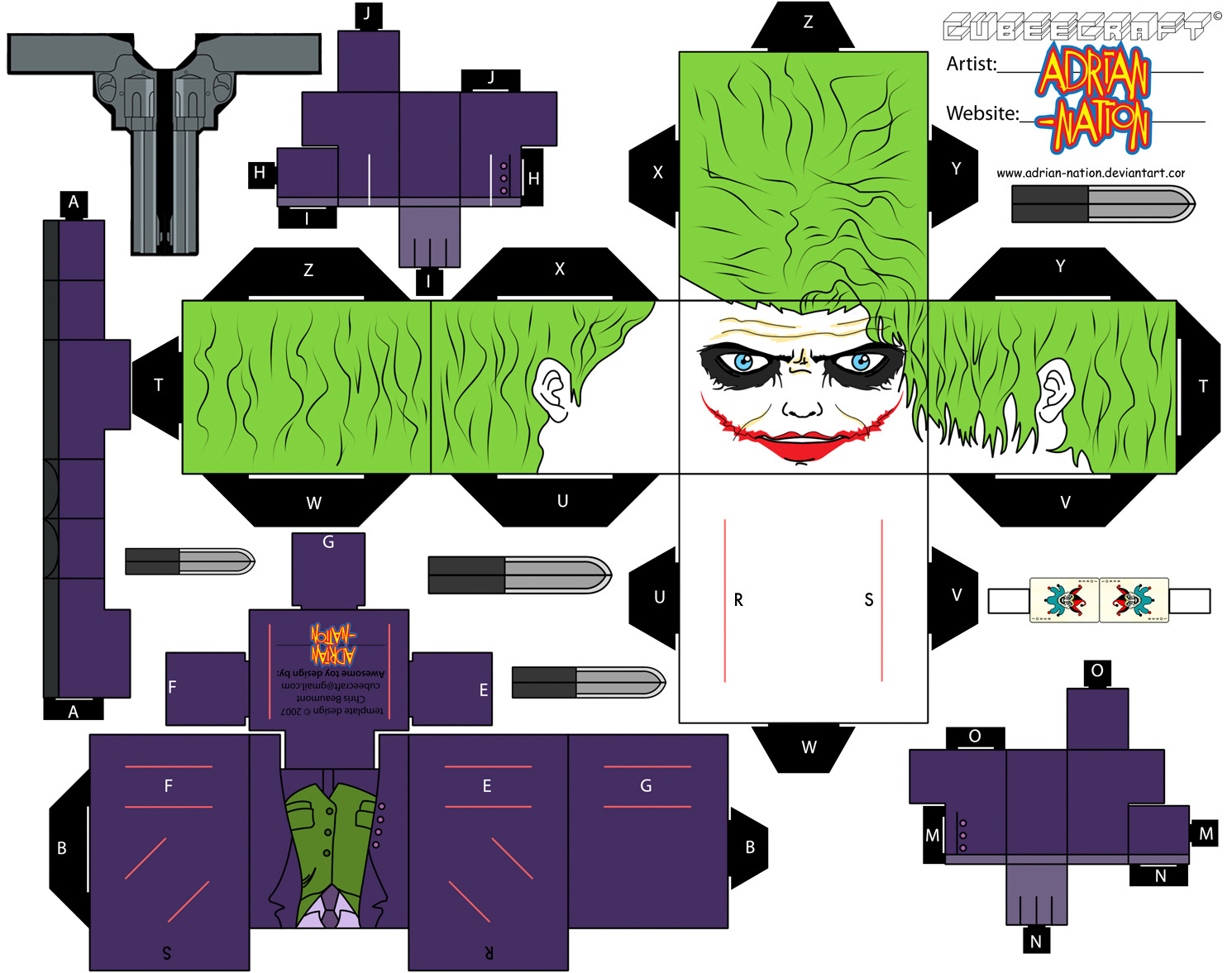 Batman Cubeecraft