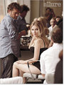 Behind-the-scenes of Scarlett Johansson's 'Allure' shoot (December '08)