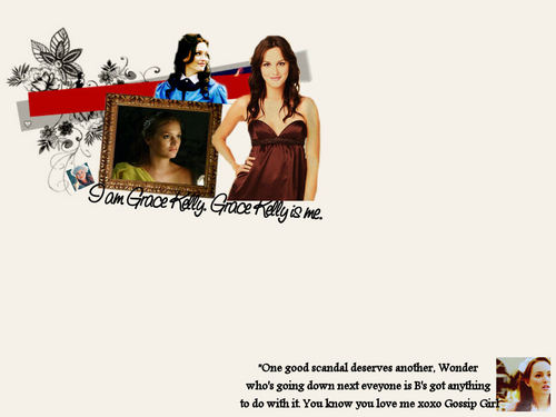 Blair Waldorf- wallpaper