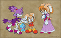 Blaze,cream,creams mom - sonic-girls photo