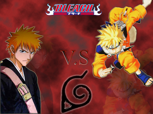 Bleach anime hình nền called Bleach vs Naruto