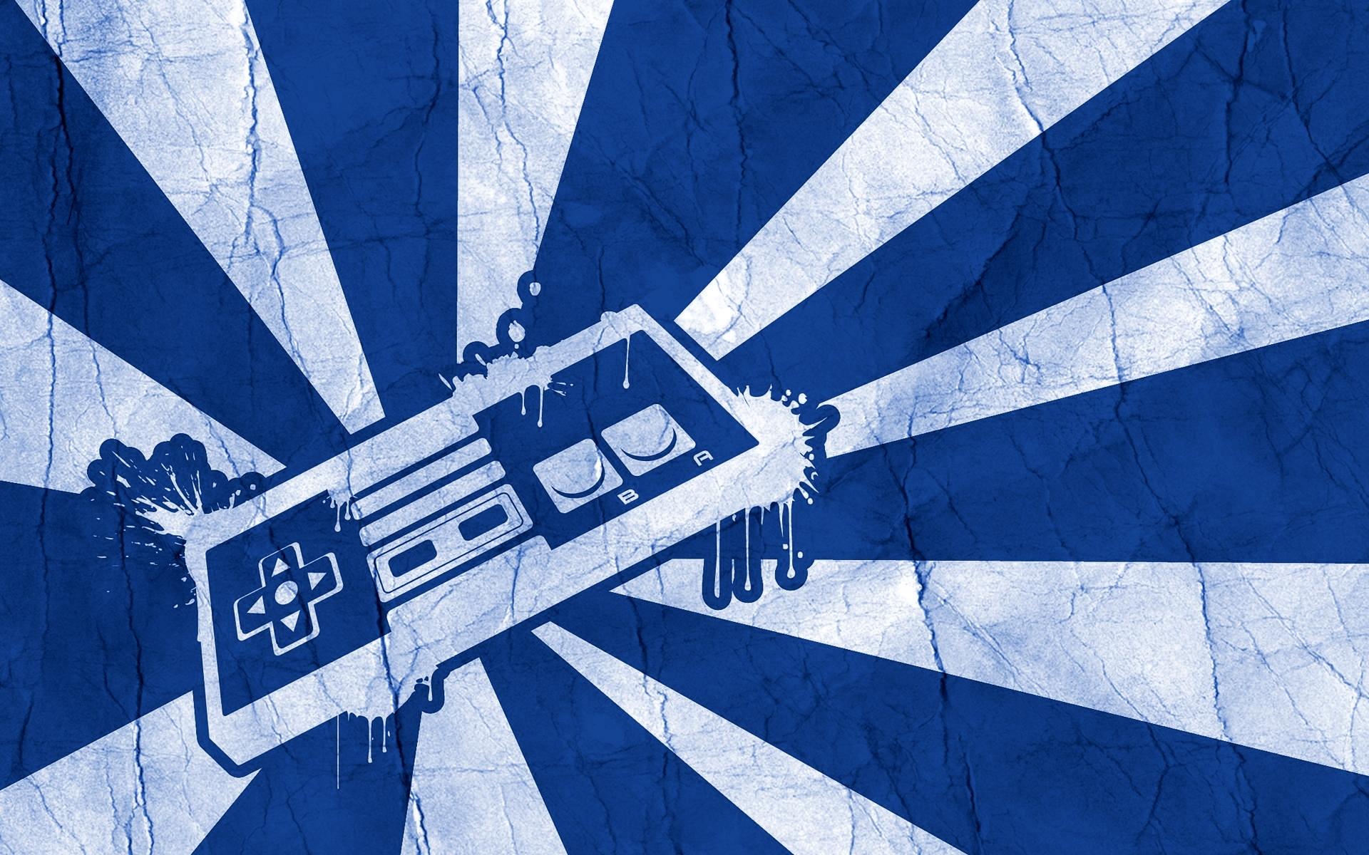 Blue NES Pad