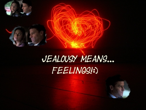 Bones wallpaper entitled Booths jealousy