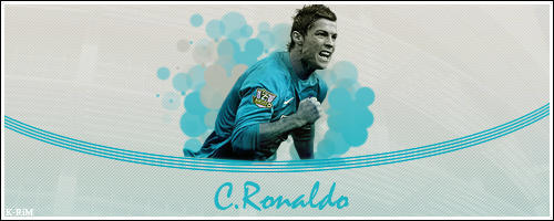 C. Ronaldo banner