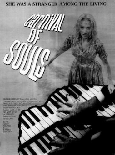 Carnival Of Souls original 1962 Poster