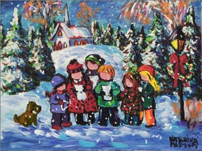 christmas images christmas carollers christmas 2008 wallpaper and background photos - Christmas Carollers