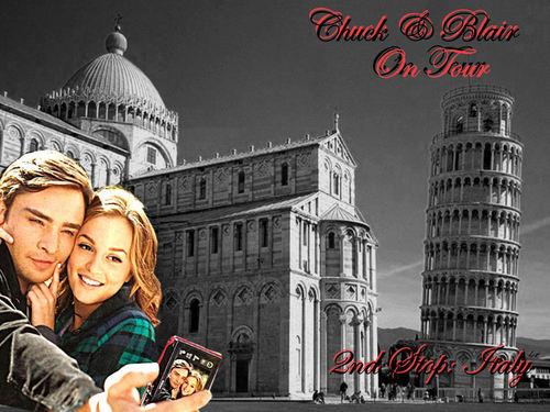 Chuck & Blair On Tour (Paris-Italy-London-New York)