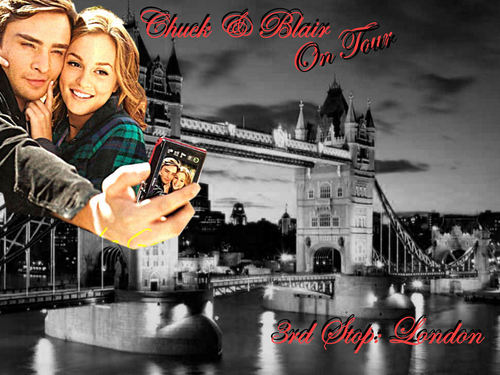 Chuck & Blair On Tour (Paris-Italy-London-New York)