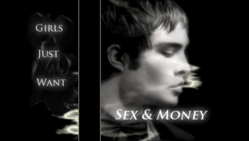 Gossip Girl Hintergrund titled Chuck & Blair-Sex & Money