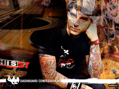 Dashboard Confessional kertas dinding