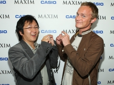 David Anders and Masi Oka