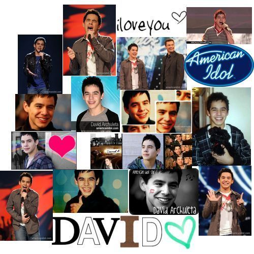 David Archuleta wallpaper containing anime called David Archuleta we love you