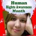 December/Human Rights Awareness mwezi ikoni