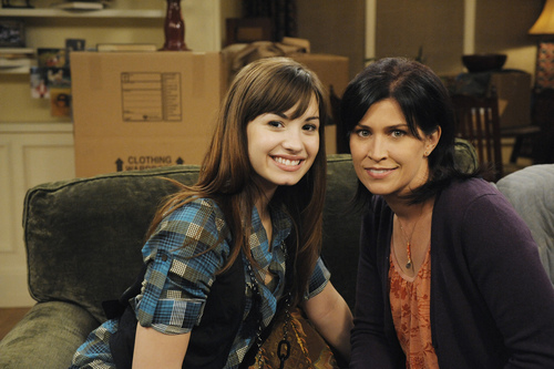 Demi on Sonny With a Chance