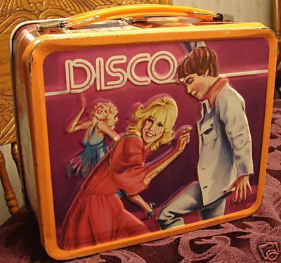 Disco Vintage Lunch Box