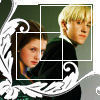 Draco and Ginny photo probably containing a portrait titled Draco and Ginny