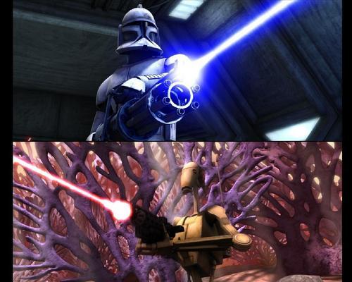 Droids vs. Clones
