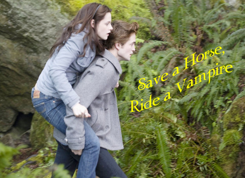Edward & Bella - Ride A Vampire