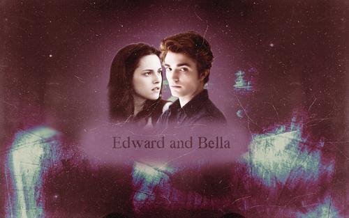Edward & Bella 바탕화면