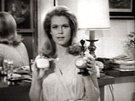 Elizabeth as Samantha In 1966 Lux Commercial