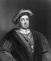Etching of Henry VIII