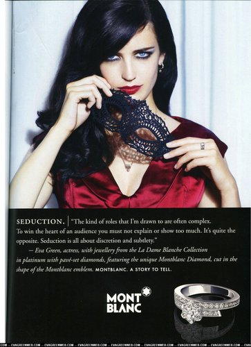 Eva Green wallpaper called Eva Green's stunning new Montblanc ad