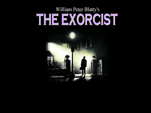 The Exorcist karatasi la kupamba ukuta called Exorcist