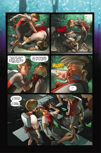 First ten pages of the comic