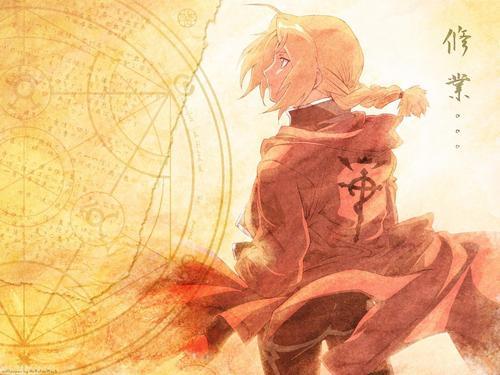Fullmetal Alchemist - Edward Elric