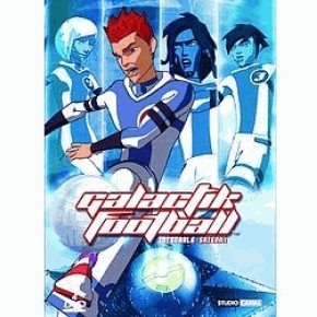 Galactik Football title and d'jok