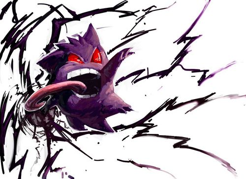 Gengar - pokemon Photo