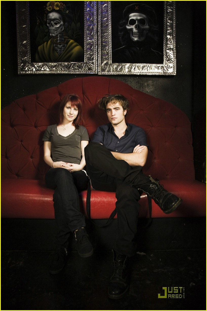 Hayley and Rob Pattinson ; - Hayley Williams Photo ...