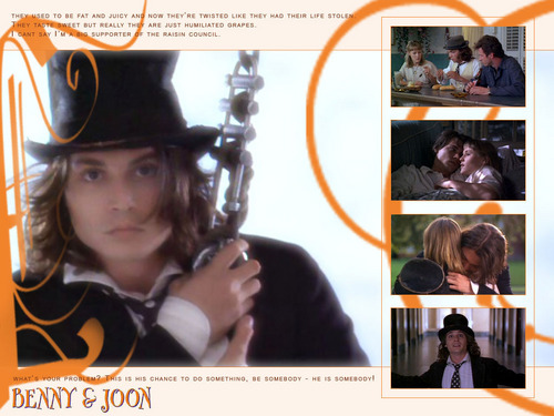 Benny and Joon wallpaper titled He is somebody!