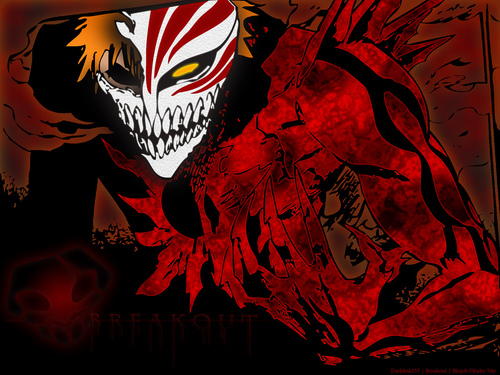 animê bleach wallpaper entitled Ichigo...Hollow