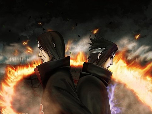 Itachi and Sasuke - akatsuki Wallpaper