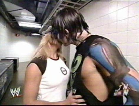 Jeff Hardy and Trish Stratus