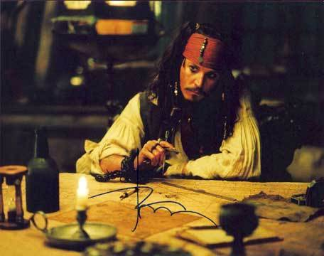 Johnny Depp wallpaper called Johnny's Autograph