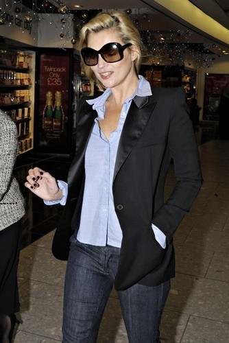 Kate at Heathrow Airport