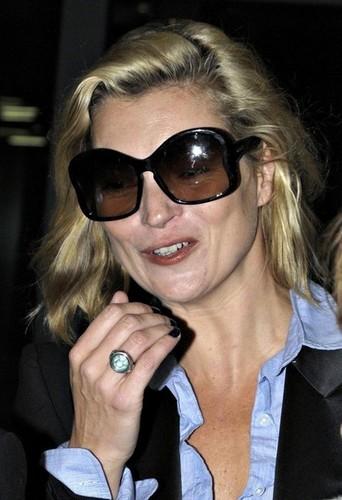 Kate at Heathrow Airport