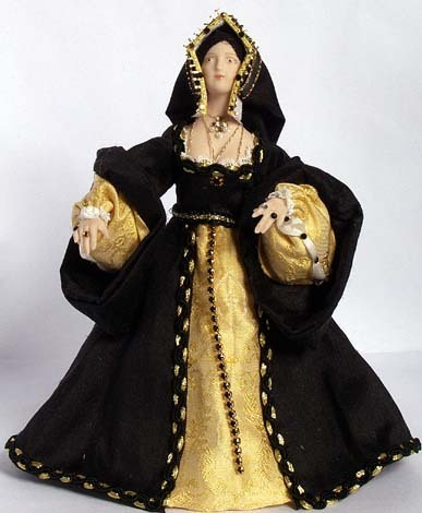 Katherine of Aragon Doll