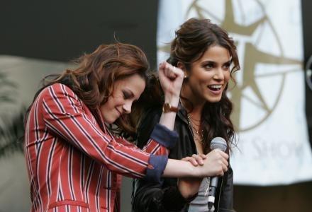 Kristen & Nikki at LA Hot Topic