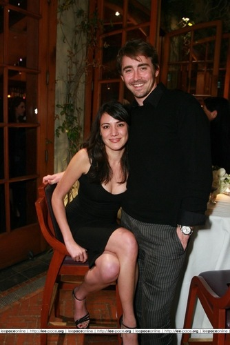 Lee Pace achtergrond titled Lee