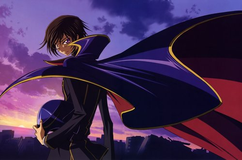 Lelouch (Zero) - code-geass Photo