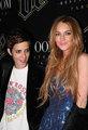 Lindsay Lohan and Samantha Ronson in Paris