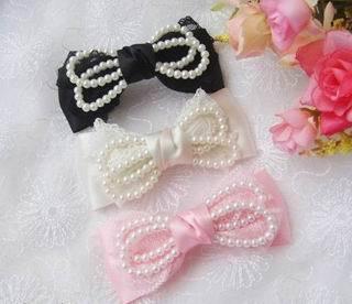 Lolita hair accessories - lolita-fashion photo